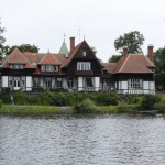 Restaurang Villan från sjösidan Foto Lennart Jansson